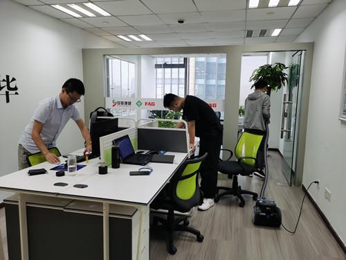 """安徽捷越""""清洁办公室、创造美好办公环境""""6S卫生月活动圆满完成"""