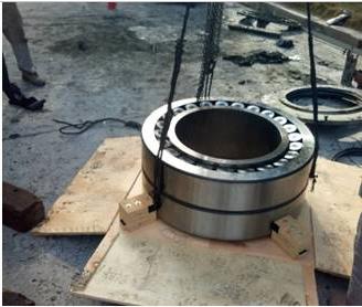 安徽捷越于铜陵海螺辊压机轴承顺利安装运行
