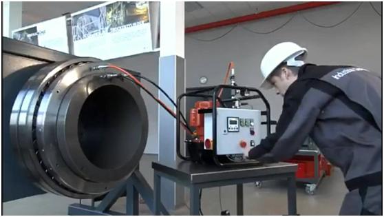 大型轴承的拆装中工具的重要性